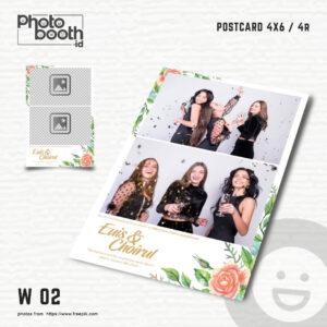Print Template Photobooth 5