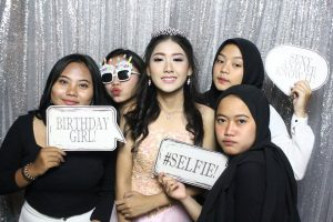 Photo Booth Jakarta -Ayu Azzahra Birthday Sweet Seventeen Party - Jhon's Pardede International Hotel
